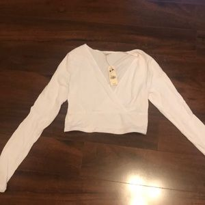 New with tags Garage white top size S